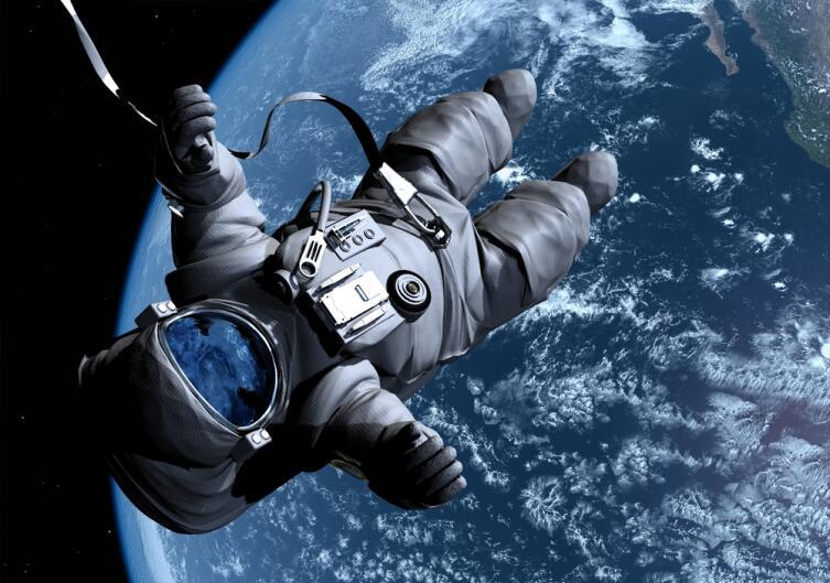 За полгода космических полетов икроножные мышцы теряют до 13% объема
