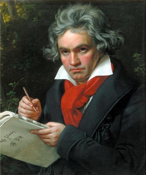 Joseph Karl Stieler, Портрет Бетховена