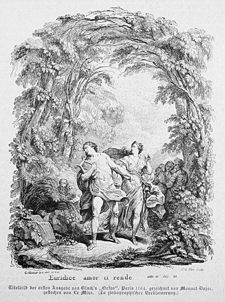 Титульный лист немецкого издания оперы