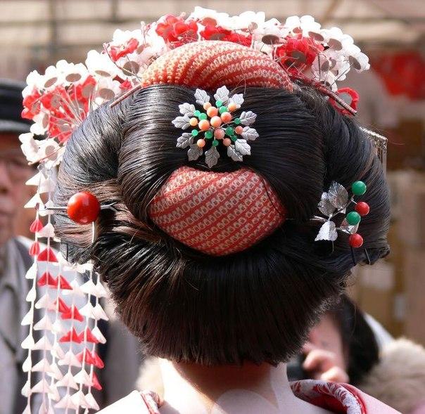 Самая эротичная в мире причёска - мамоварэ