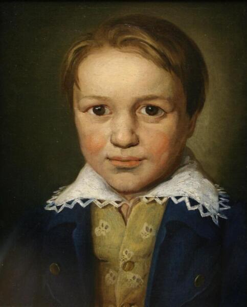 Портрет Бетховена в 13-летнем возрасте