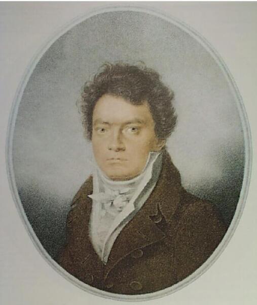 Бетховен в 1814 г.