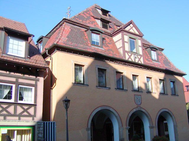 Ратуша в Форхтенберге, где жила Софи Шолль в 1921—1930 годах