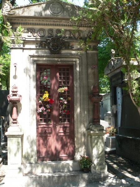 Могила Россини в Париже