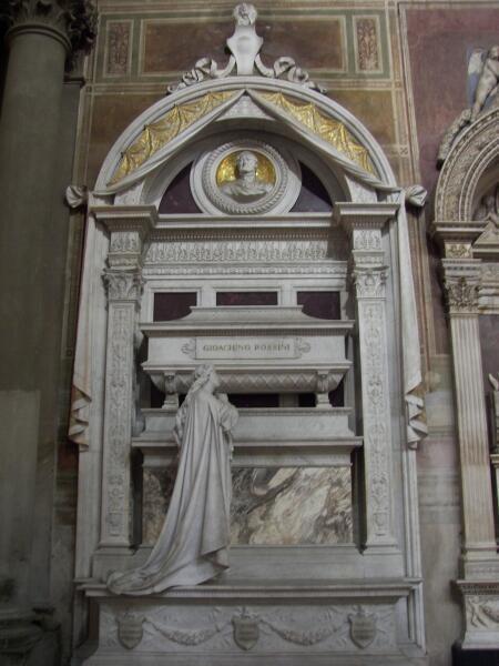 Могила Россини во Флоренции