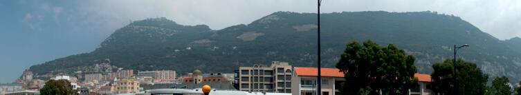 Панорама Гибралтара