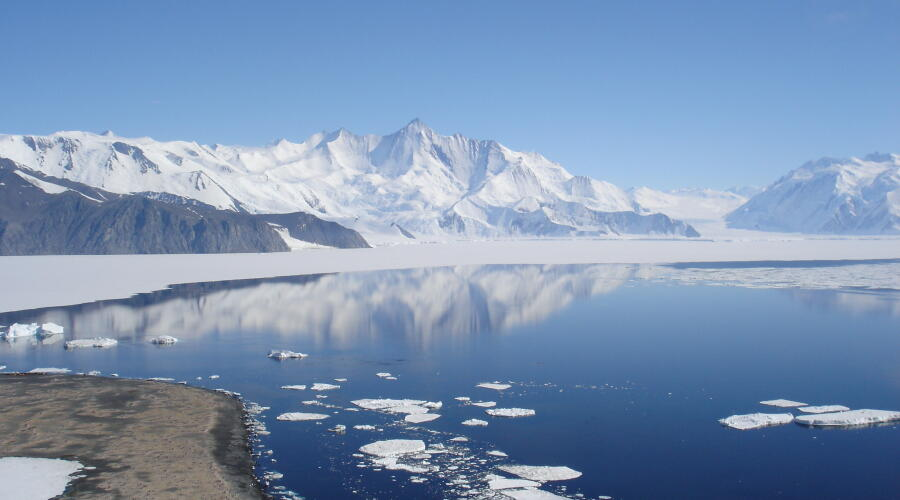 Земля Виктории в Антарктиде