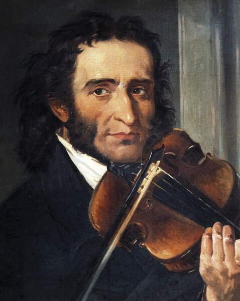 Портрет Николо Паганини