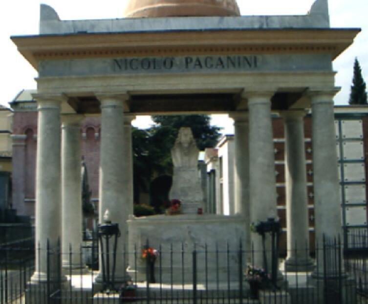 Могила Паганини