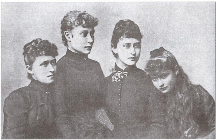 Гессенские принцессы - Ирена, Виктория, Елизавета, Алиса