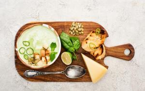 Как приготовить сырный суп?