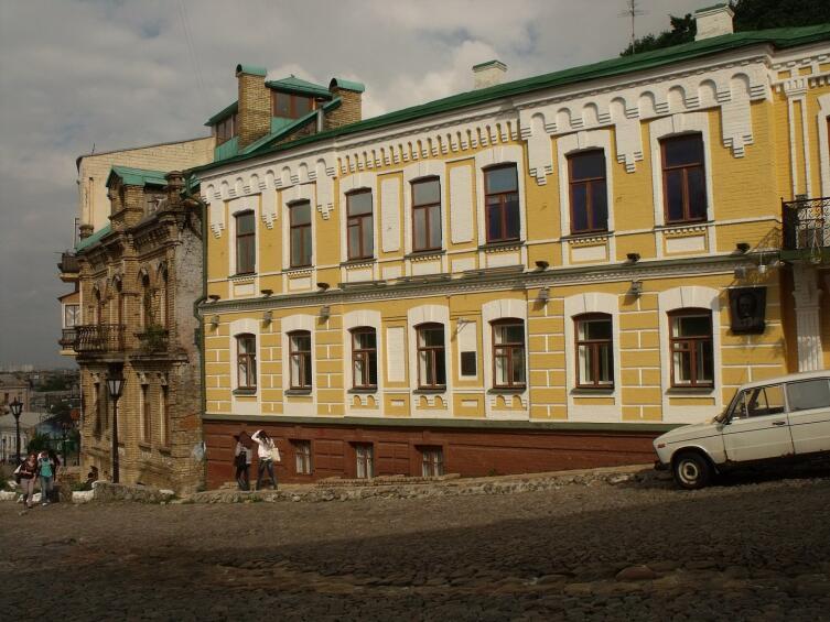 Дом в Киеве, в котором в 1906—1921 гг. жил Булгаков