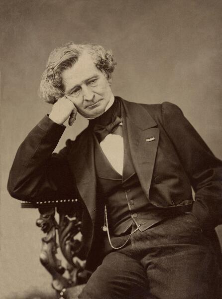 Портрет Гектора Берлиоза, 1863г.