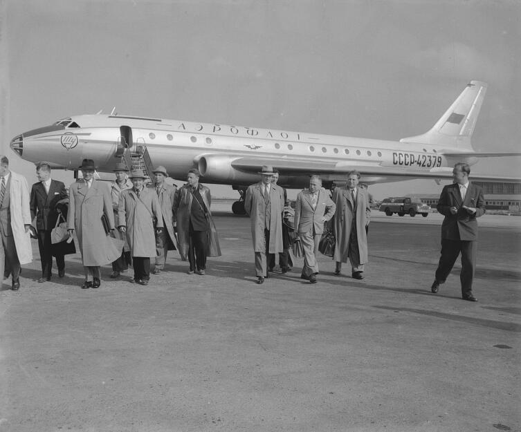 Разбившийся самолёт за 15 лет до катастрофы, 23 августа 1958 г.