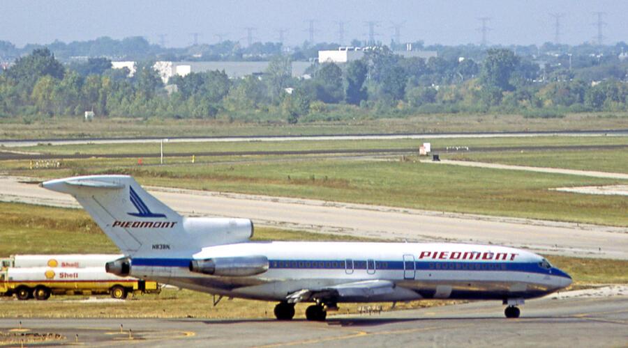 Самолет авиакомпании Piedmont Airlines, который угоняли в 1979 г.