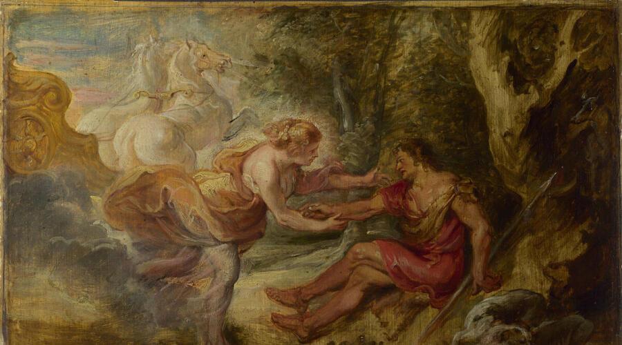 Питер Пауль Рубенс, Аврора похищает Кефала, 1636 г., Национальная галерея, Лондон, Англия