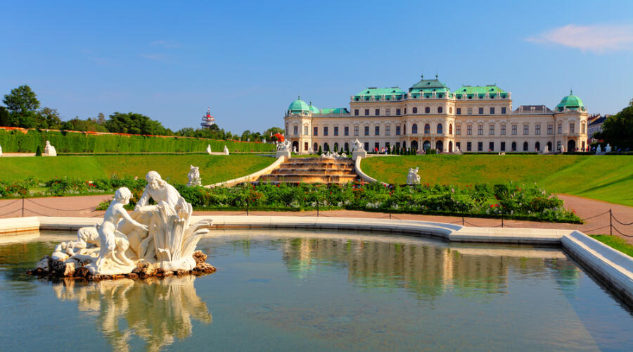 Бельведерский дворец, Вена