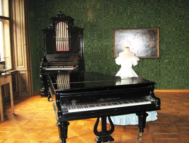 В музее Иоганна Штрауса
