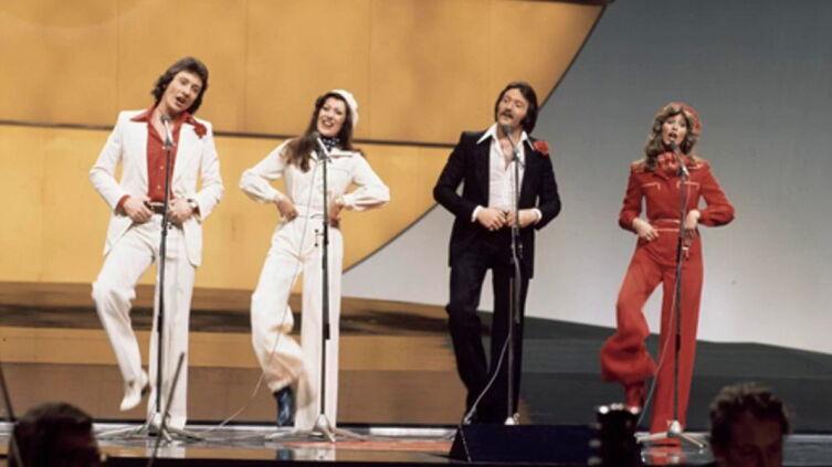 Выступление The BROTHERHOOD of MAN на «Евровидении» в 1976 г.