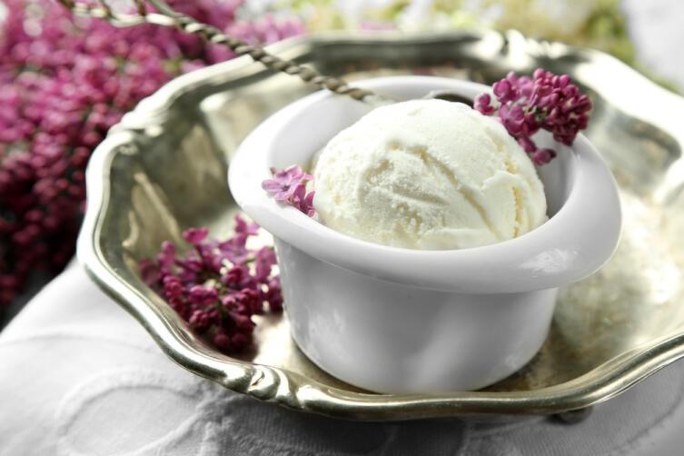Как приготовить мороженое из сирени, воспетое известным русским поэтом в стихах?