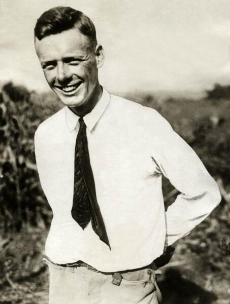 Чарльз Линдберг в 1923 г.
