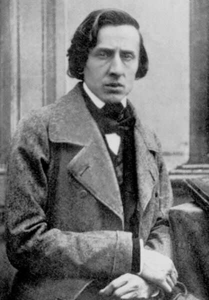Шопен в 1849 г.
