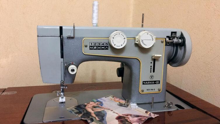 Швейная машина «Чайка-III»