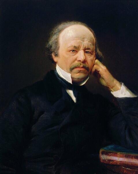 А. Даргомыжский. Портрет работы К. Е. Маковского, 1869 г.