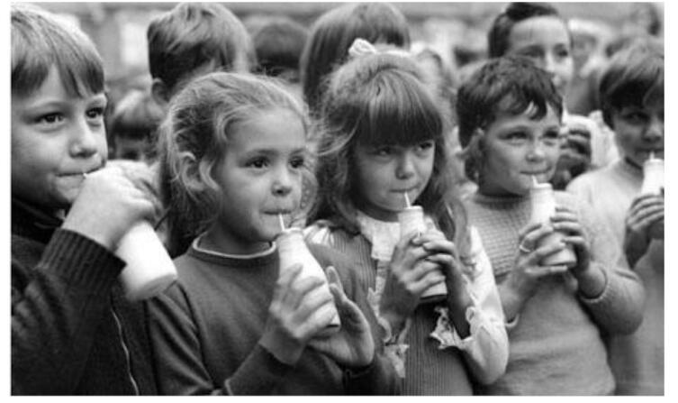 Ежедневная «школьная» порция— треть пинты молока