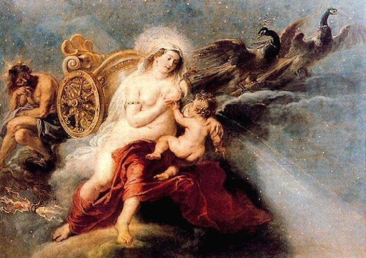 П. П. Рубенс, «Происхождение Млечного Пути». Музей Прадо, Мадрид