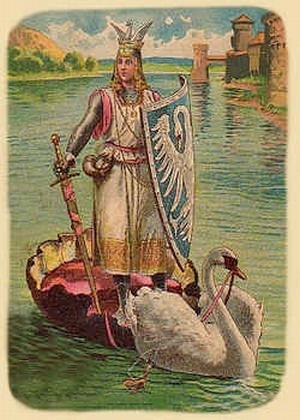 Иллюстрация к опере ЭЛоэнгрин