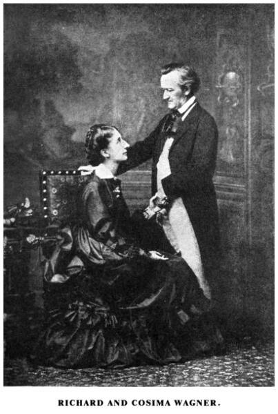 Рихард и Козима Вагнер, 1872 г.