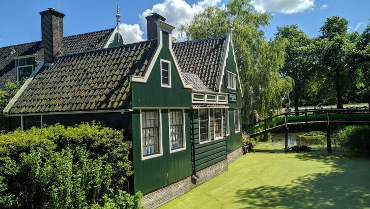 Как используются мельницы в Нидерландах?