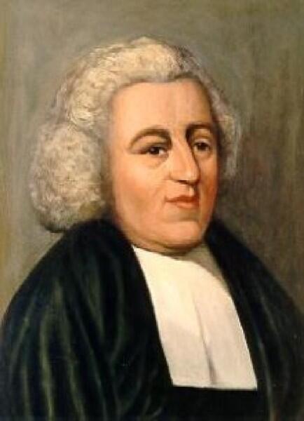 Джон Ньютон - автор слов и герой песни