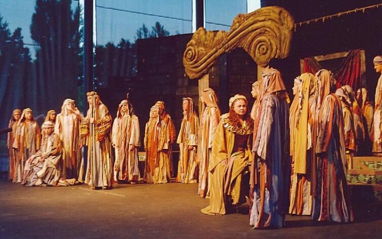Постановка оперы «Набукко»