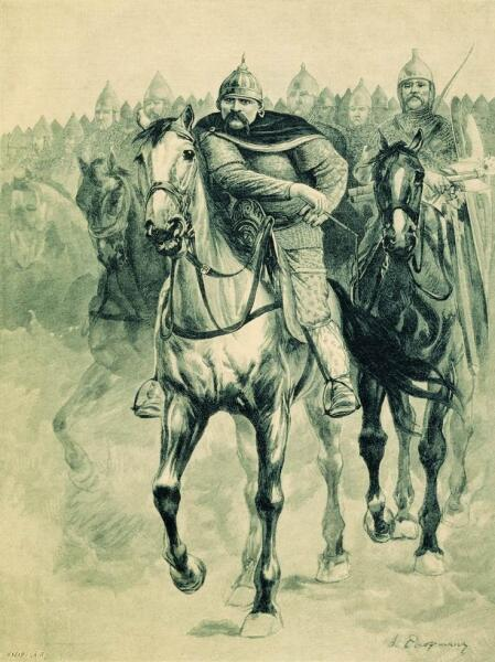 Конница, рисунок 1895 г.