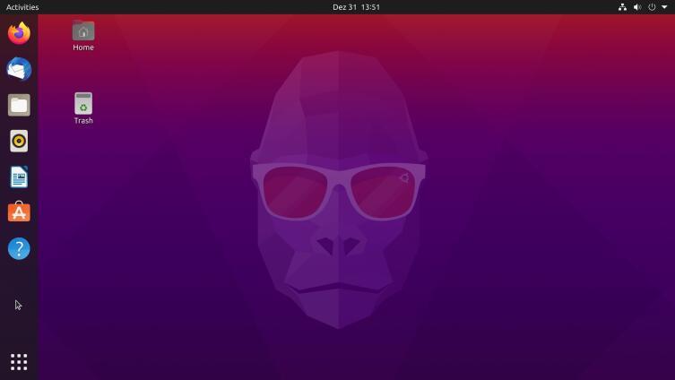 Операционная система Ubuntu 20.10