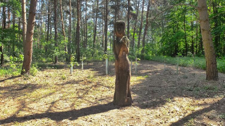 Статуя Мокоши