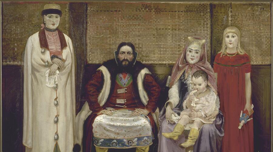 Андрей Рябушкин, «Купеческая семья XVII века»