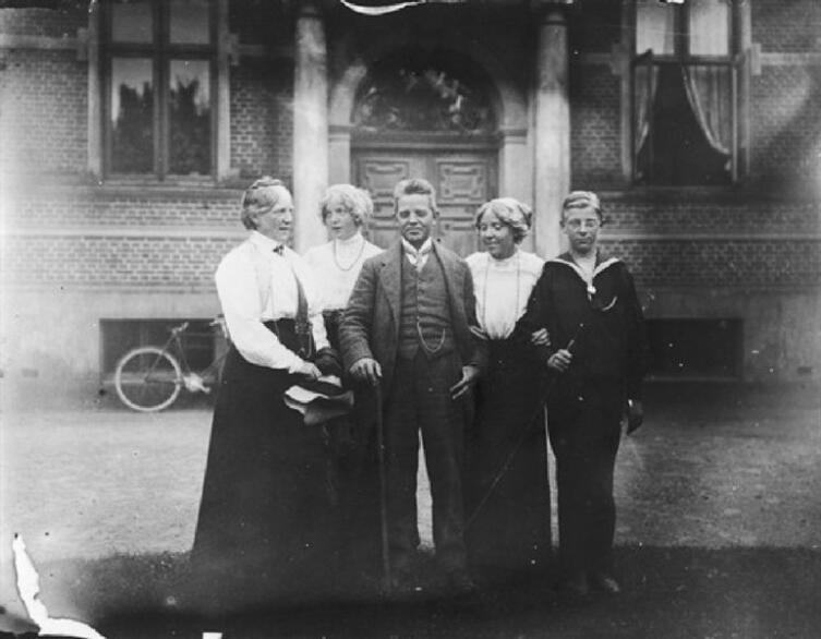 Карл Нильсен, Анна Мария Карл Нильсен и их дети