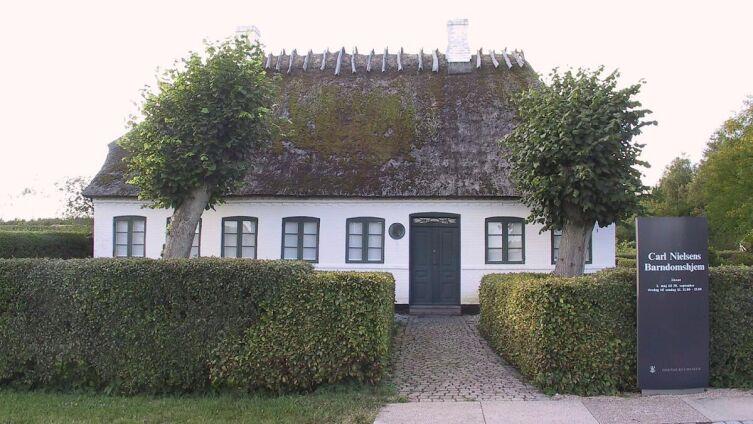 Дом, в котором родился Нильсен