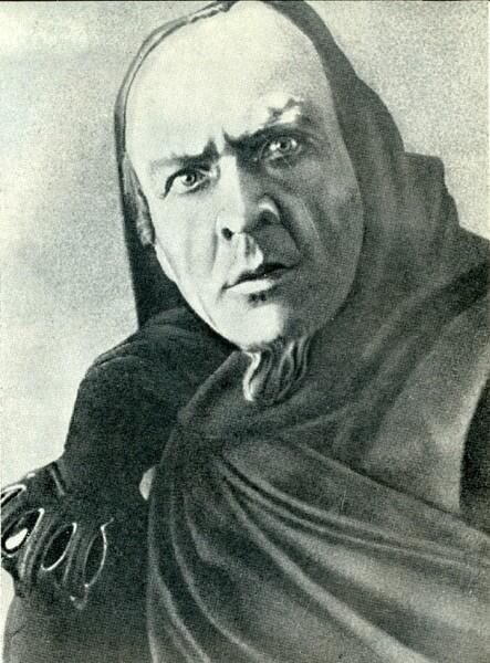 Портрет Ф. Шаляпина в роли Мефистофеля