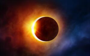 Как вести себя во время солнечного затмения?
