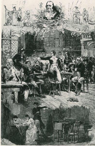 Сценические образы из рассказов Гофмана Жака Оффенбаха. После парижской премьеры