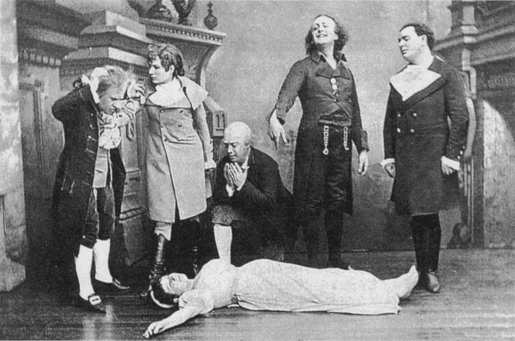 Смерть Антонии в оригинальной постановке 1881 г.