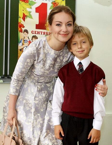 Ольга с сыном Наумом