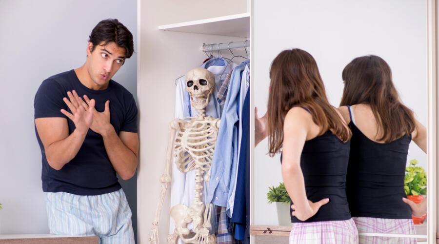 Скелеты в шкафу. Какие чувства мы скрываем?