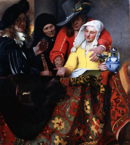 Ян Вермеер, «У сводни», 1656 г.