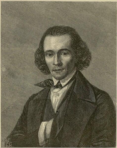 В.В. Матэ, «Александр Николаевич Серов в 1846 г.»