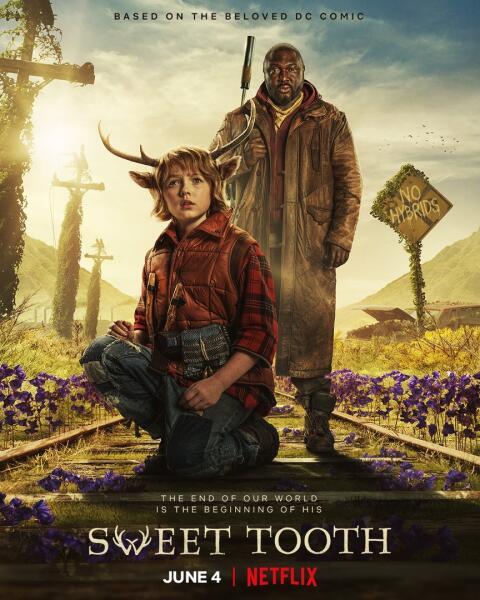Постер к т/с «Sweet Tooth: Мальчик с оленьими рогами»